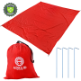 Beach-Blanket-Towel-Picnic-Camping-Oversized-Red-Adalid-Gear-1st-Version